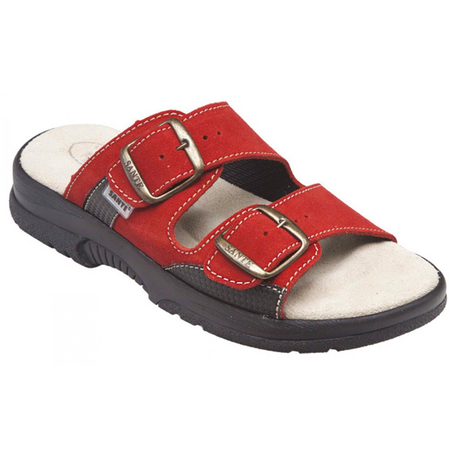 dámské pantofle Santé 517 33 38 červené CP - KARS 10aae7d5b3