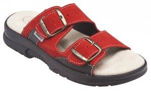 62cb1076f7e dámské pantofle Santé 517 33 38 červené CP