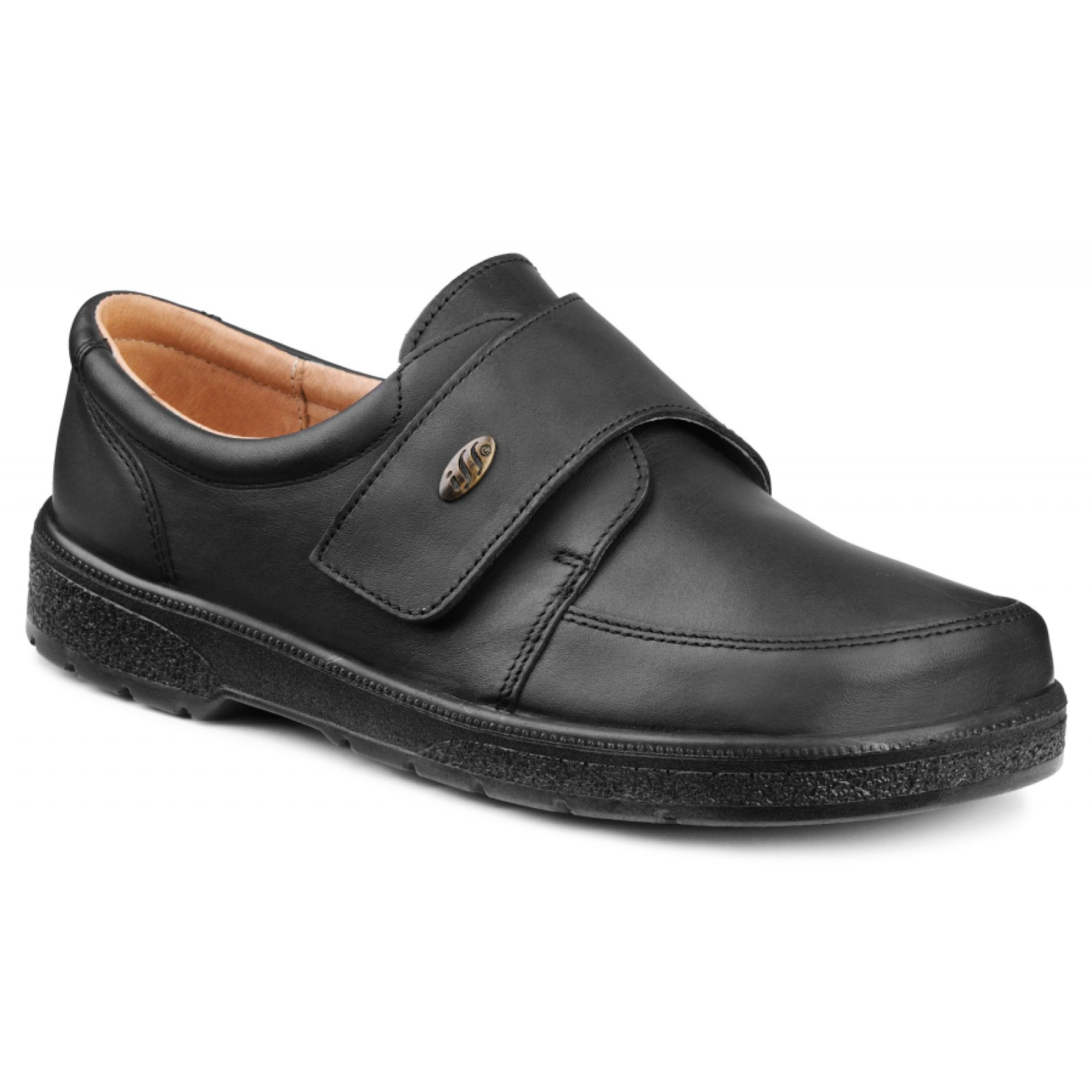 018f05a28d1 RUDO černý - pánská obuv pro diabetiky
