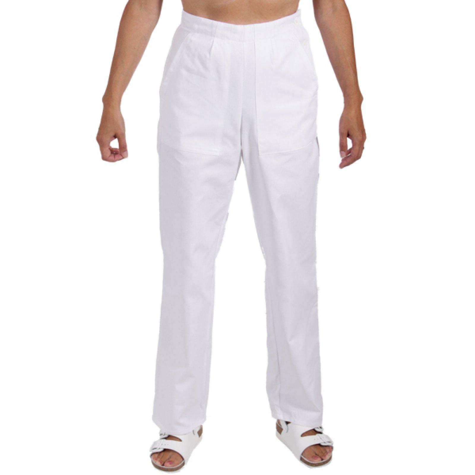 94b1699a715 Dámské kalhoty bílé - 0470 - KARS