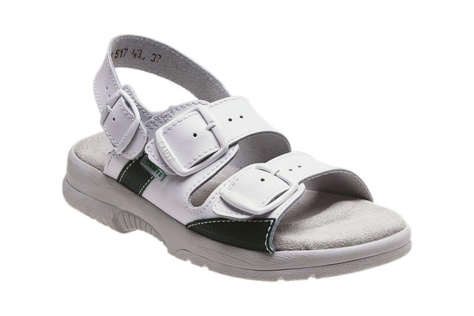 0fb8f58f48c4 dámské sandály Santé 517 43 10 bílé