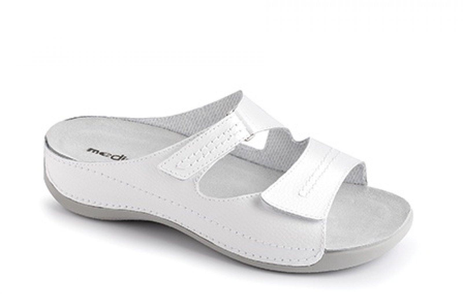411d0a4fe73 dámské pantofle Medistyle Šárka bílé - KARS
