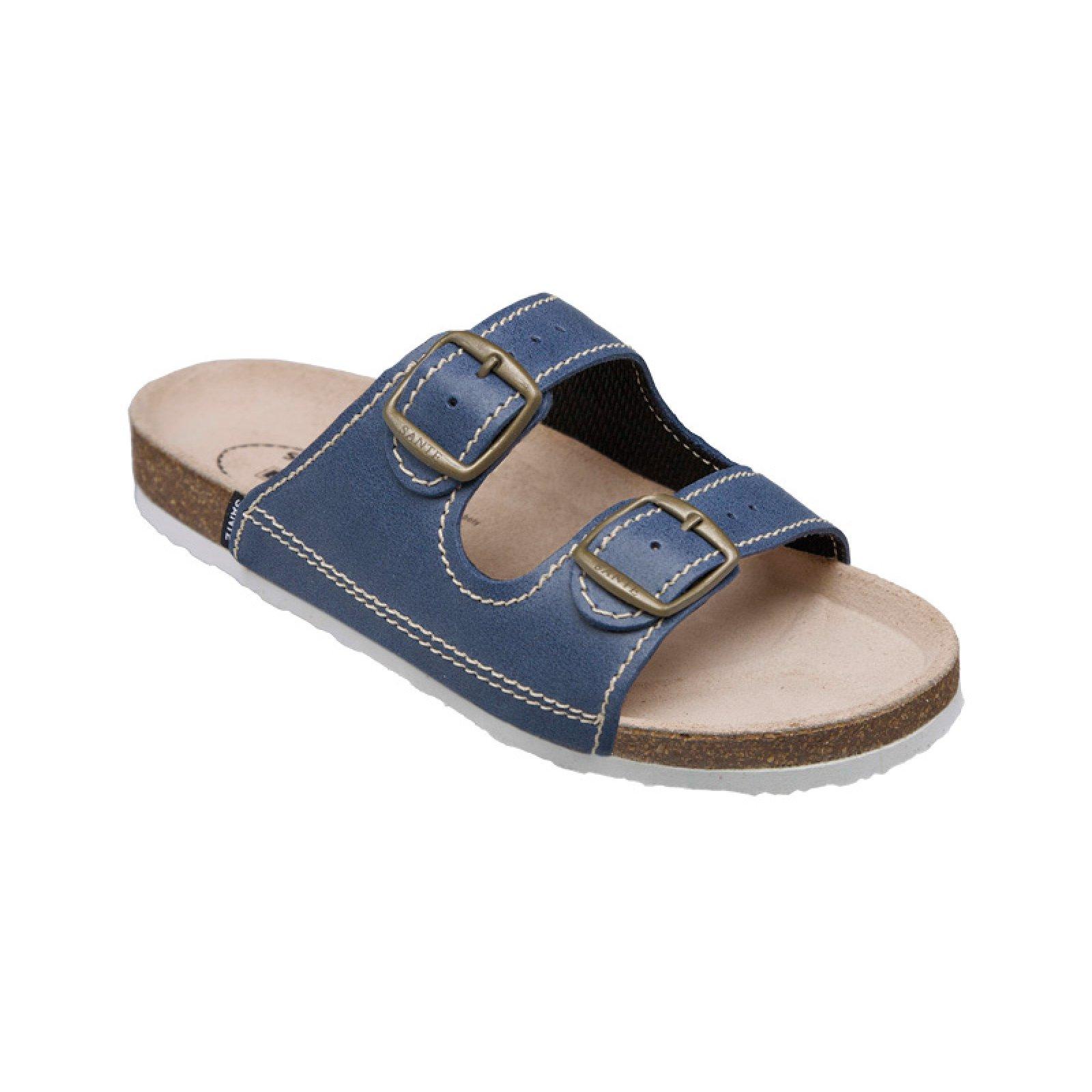 dámské pantofle Santé 21 86 BP modré 31dc53caf0