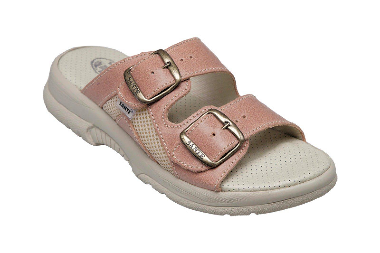 6af120a1e8c dámské pantofle Santé 517 31 lososové - KARS