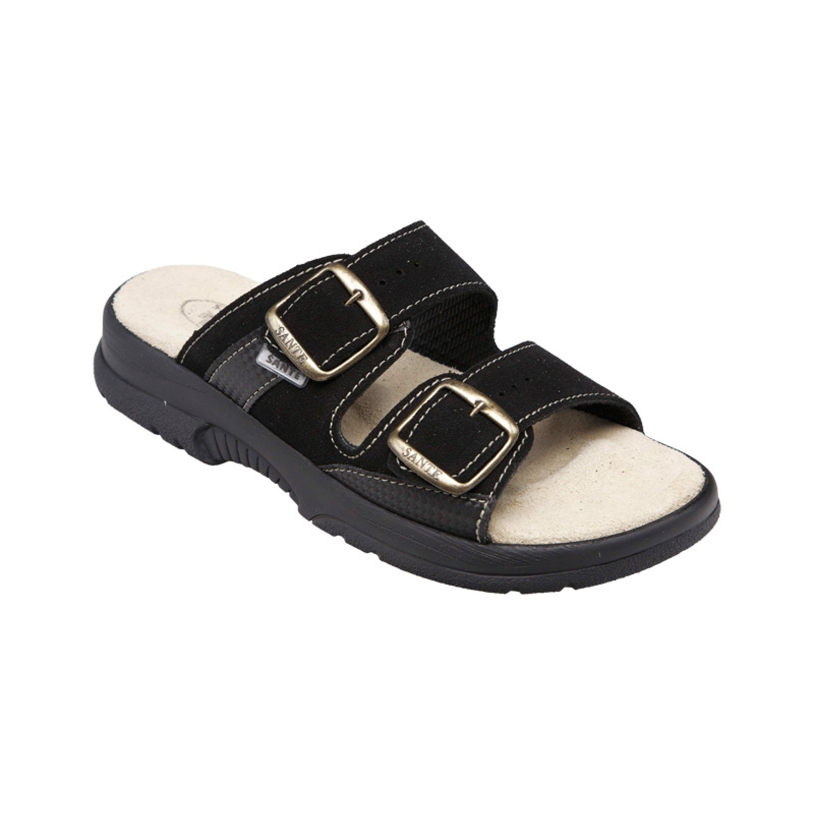 dámské pantofle Santé 517 33 68 černé - KARS c28a23f325
