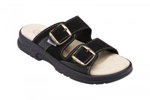 b9c60e83091 dámské pantofle Santé 517 33 68 černé