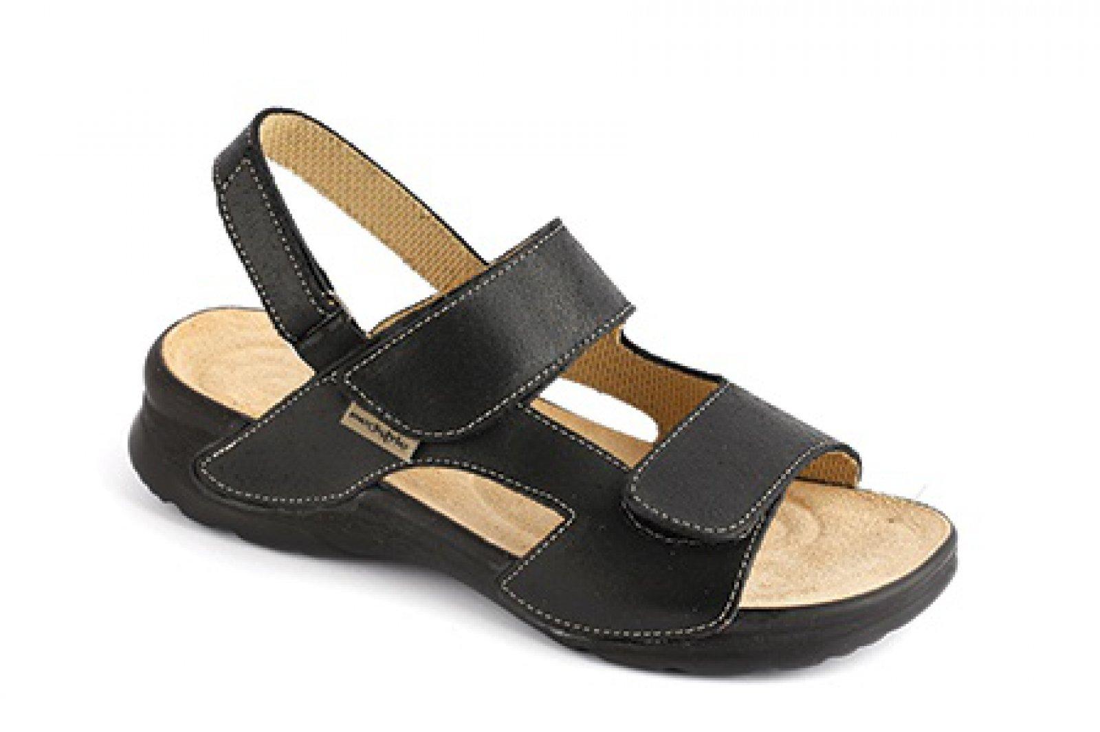 fbdb6a8f30e1 dámské sandály Medistyle Mirka černé