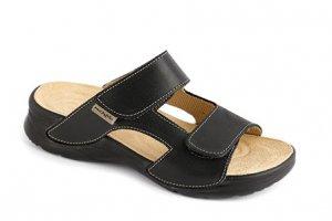 9719ab7cd05 dámské pantofle Medistyle Mirka černé