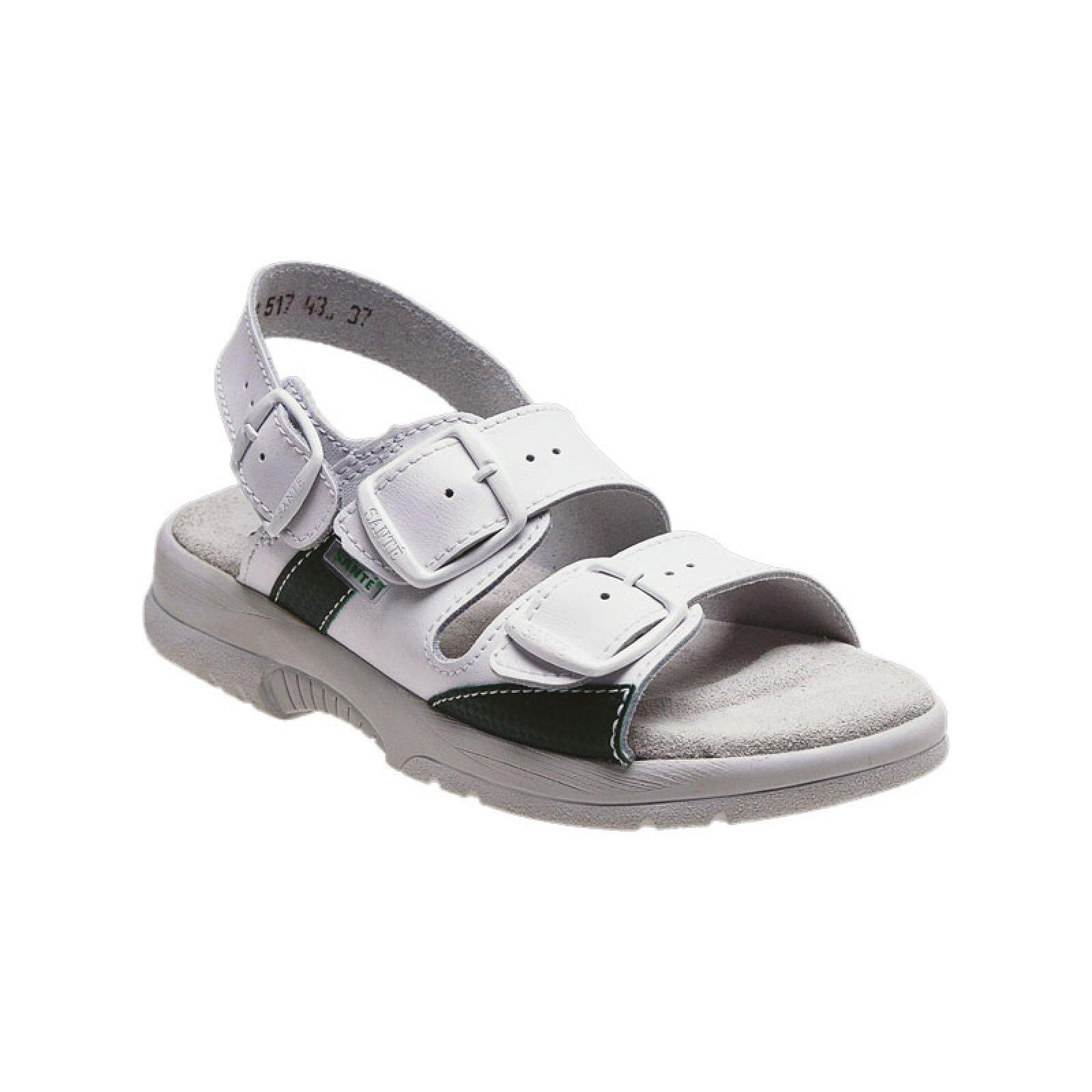 908dc0da388 dámské sandály Santé 517 43 bílé